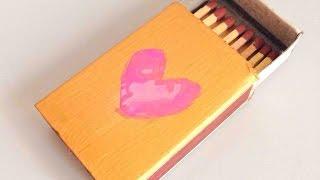 Make A Cute Matchbox Love Letter - Diy Crafts - Guidecentral
