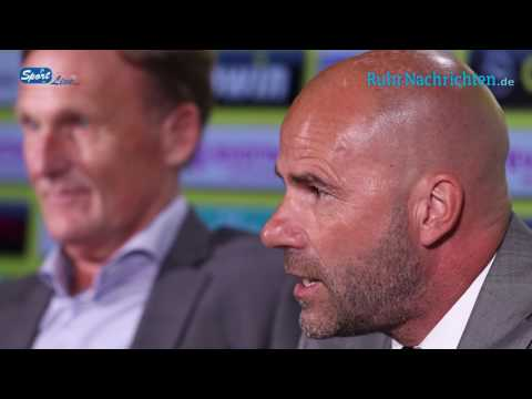 Vorstellung des neuen BVB Trainers Peter Bosz