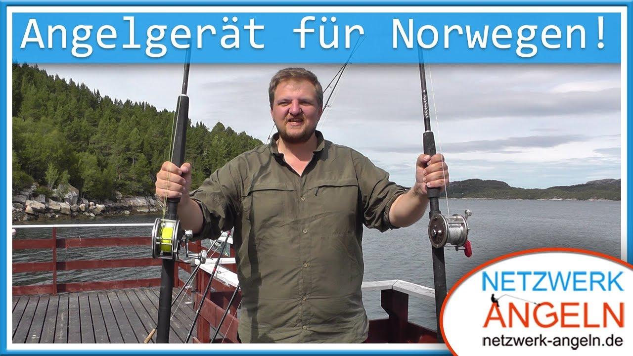 angelausr stung f r norwegen das brauchst du zum meeresangeln youtube