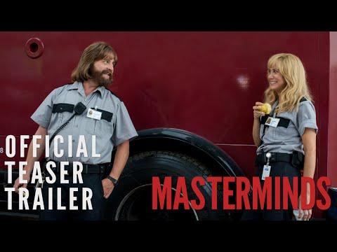 """Masterminds"" Trailer"
