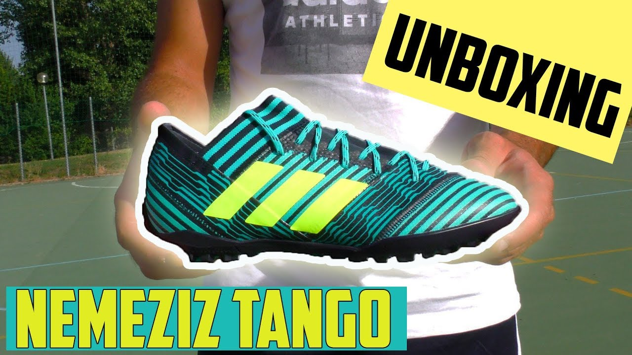 56c2614d3 Unboxing NEMEZIZ TANGO 17.3 Ocean Storm Pack    Futsal Boots!! SKILLS CREW  SOCCER
