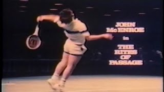 John McEnroe THE RITES OF PASSAGE