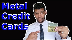 What Are The Heaviest Metal Credit Cards (2019)