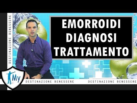 Emorroidi: Diagnosi e Trattamento