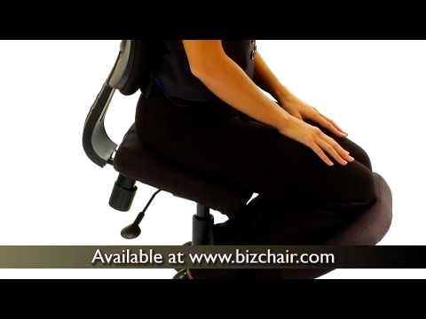 099 WL 1430 GG Ergonomic Kneeling Office Posture Task Chair V1 Yt   YouTube