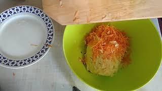 Салат из моркови и яблок - обалденный вкус