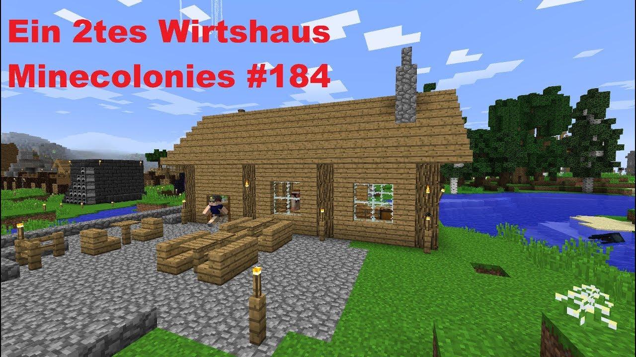 Ein Tes Wirtshaus Minecolonies Lets Play Minecraft German - Minecraft neue hauser