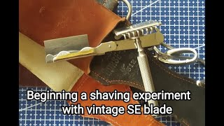 """SE blade """"Radio Steel"""" . How long can shave with a vintage blade"""