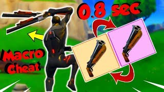 TUTO / HAVE A MACRO DOUBLE CHEAT PUMP IN LESS THAN 5 MINUTES!! ON FORTNITE!