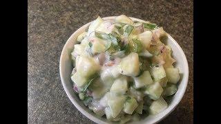 CUCUMBER SALAD/easy simple recipe