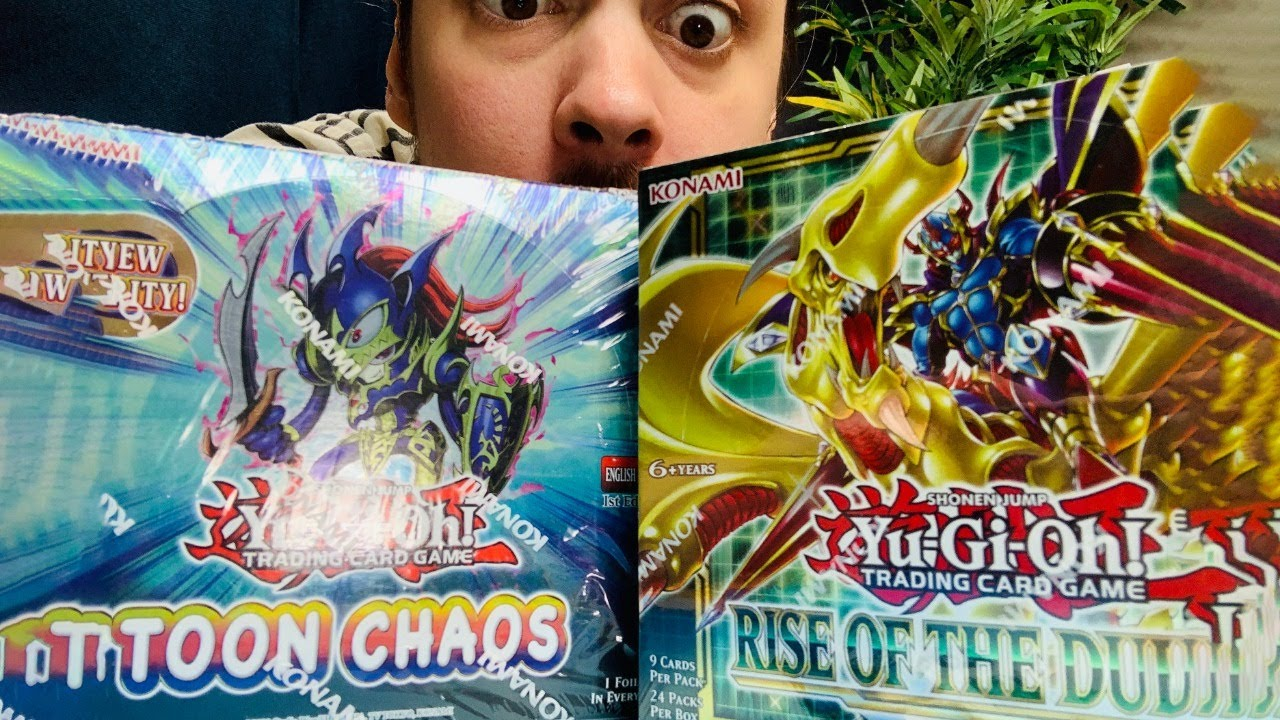 FIRST YUGIOH UNBOXING! What the HECK are these things?!?!