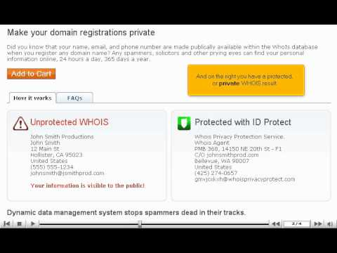 Should I pay for private domain registration? - Web Hosting Tutorial