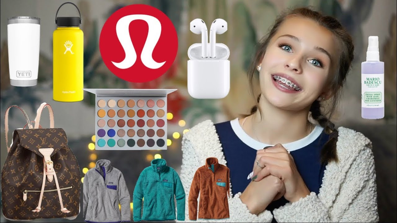 Christmas Wish List 2019.Christmas Wishlist 2018 Lululemon Mario Badescu Louis Vuitton Morphe Patagonia Etc