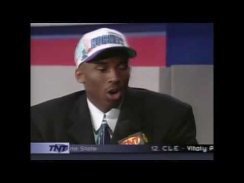 Kobe Bryant NBA DRAFT 1996 FULL HIGHLIGHTS