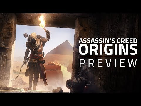 Assassin's Creed Origins Combat, Level Design, and Weapon Systems