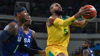 Team USA Basketball 2016 vs Australia - Rio Olympics 2016 (Carmelo Anthony)