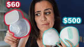 Momcozy Vs. Elvie Vs. Willow Portable Breastpump Review || Is it too good to be true