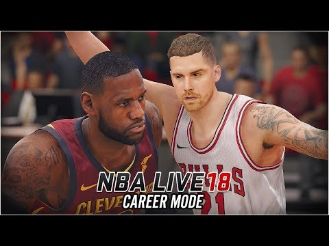NBA LIVE 18 Career Mode - Ep 7 - DENK vs LEBRON!! (NBA Live 18 The One #7)