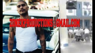 YG Artist Sad Boy Loko & Sureños BEAT UP a SNITCH in Jail(CRAZY VIDEO MUST SEE!)