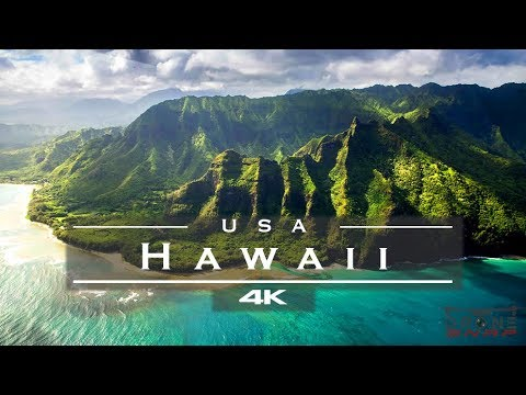 Hawaii, USA 🇺🇸 - by drone [4K]🏄‍♂️🏝