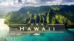 Hawaii, USA 🇺🇸 - by drone [4K]🏄♂️🏝