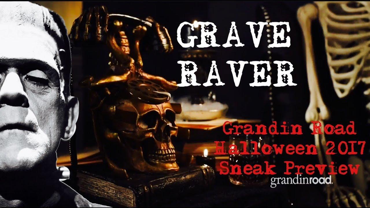 grandin road halloween haven 2017 sneak preview - Halloween Haven
