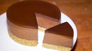 ШОКОЛАДНЫИ ЧИЗКЕИ К РЕЦЕПТ ТОРТА БЕЗ ВЫПЕЧКИ Chocolate No Bake Cheesecake Recipe