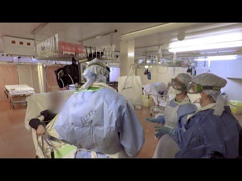 Voici comment les malades du coronavirus sont pris en charge à bord du porte-hélicoptère Tonnerre