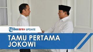Menhan Prabowo Subianto Jadi Tamu Pertama Jokowi di Tahun 2020, Berbincang dan Makan Bersama