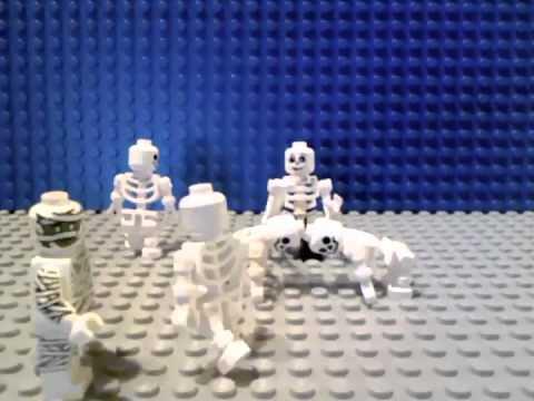 Lego Skeleton Dance - YouTube