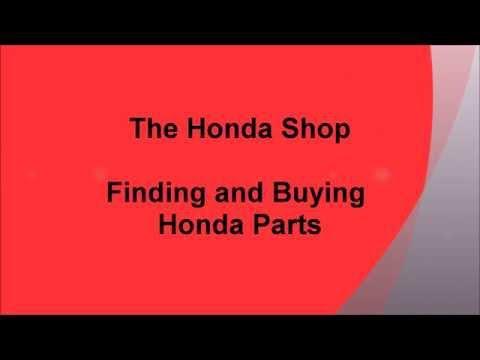 Honda Parts Search Instructions HD