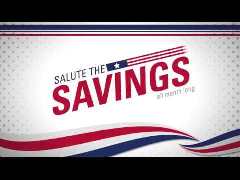 Salute The Savings