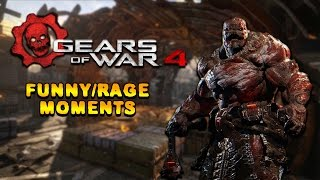 Gears of War 4 Rage (Funny Moments)