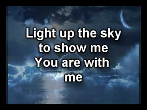 Light Up the Sky - The Afters - Worship Video with lyrics