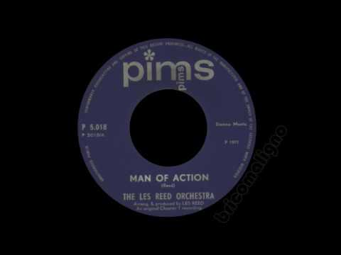 The Les Reed Orchestra - Man Of Action