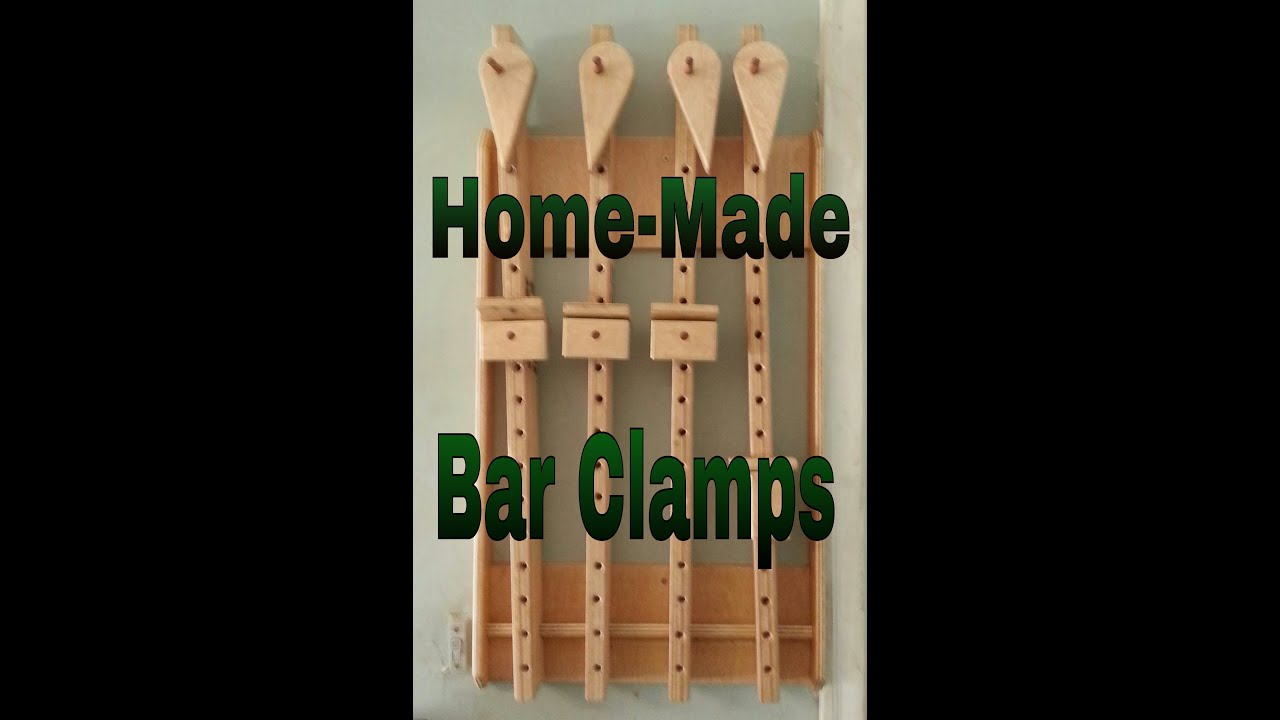 Homemade bar clamps youtube for Homes built on your land with no money down