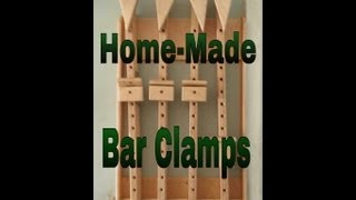 Homemade Bar Clamps!