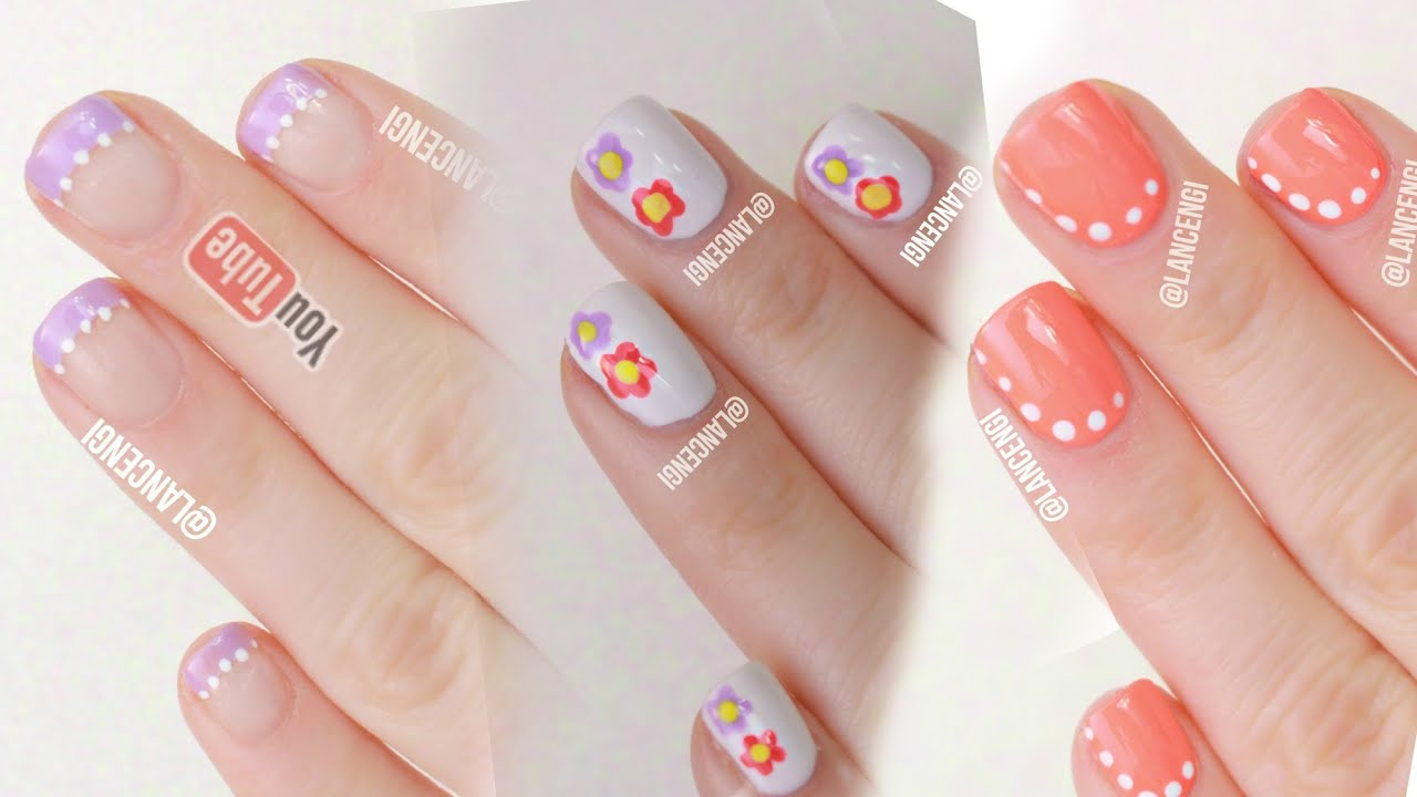 Easy nail art for beginners 29 spring nail art no tools part easy nail art for beginners 29 spring nail art no tools part 2 youtube prinsesfo Images