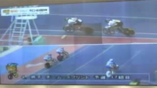 第72回国民体育大会・自転車競技会/男子チーム・スプリント予選17組目、H:青森県 B:福島県