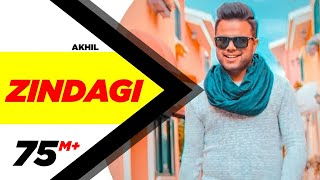 Zindagi Full Video  Akhil  Latest Punjabi Song 2017  Speed Records