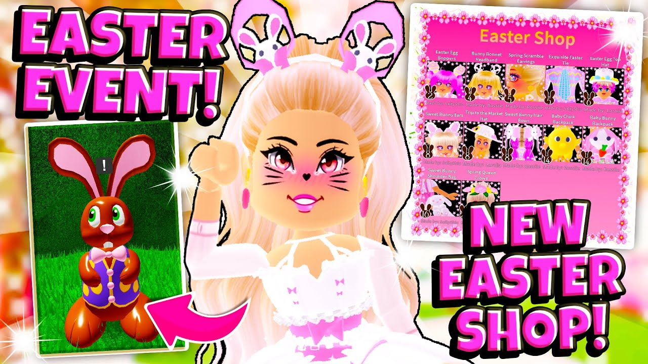 Bunny Hunt How To Get All New Easter Accessories In Roblox Royale
