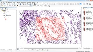 How to clip shapefile on Arcgis
