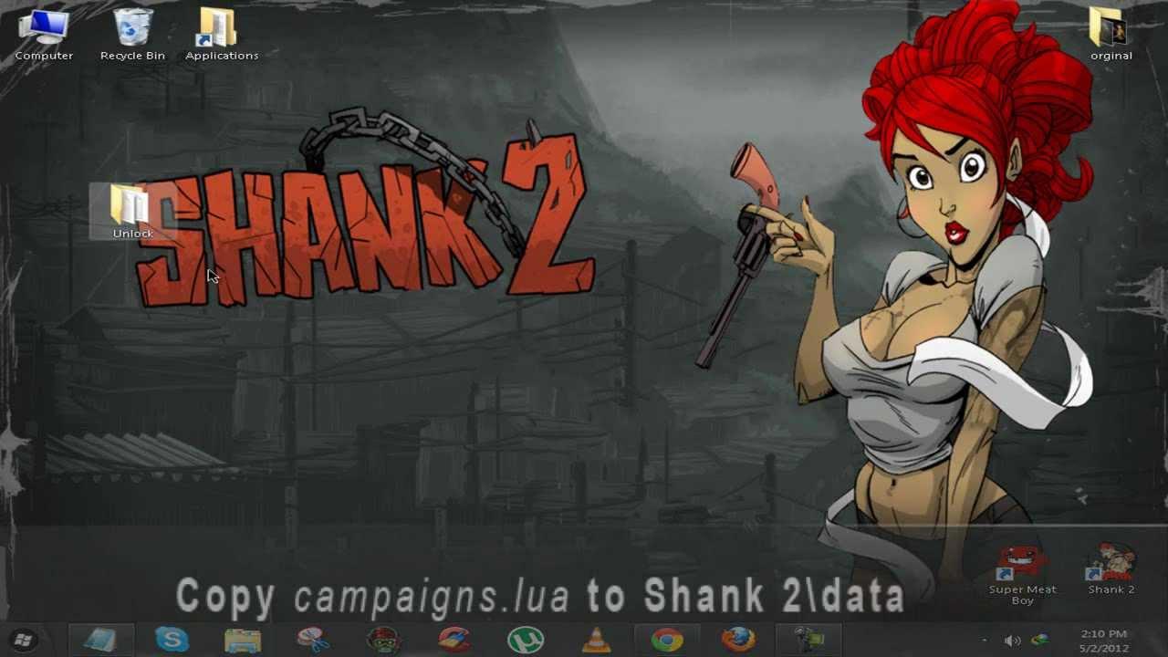 Shank 2 как открыть персонажей