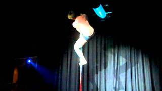 Daniel Rosen - Advanced winner of Nottingham Pole Association Poledance Competition