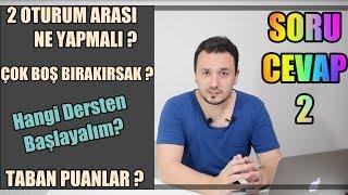 LGS 2019 ÖNCESİ SON VİDEO | SORU CEVAP - 2