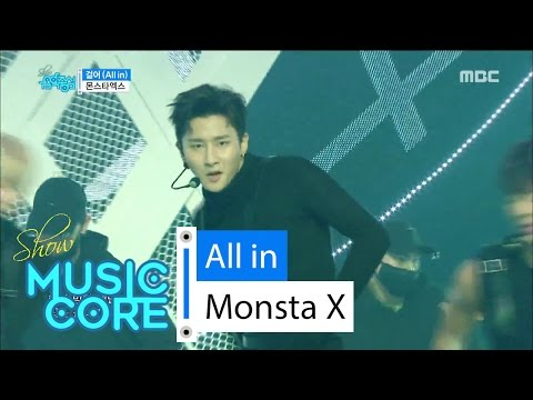 [HOT] Monsta X - All in, 몬스타엑스 - 걸어(All in) Show Music core 20160521