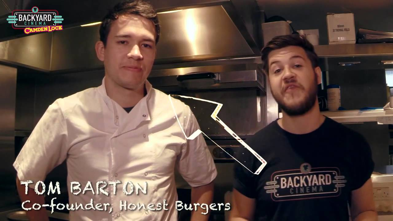 the backyard burger by honest burgers youtube