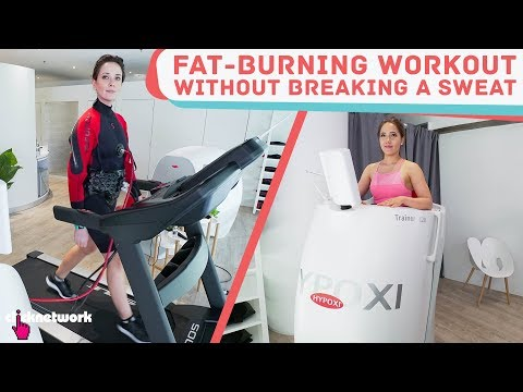 Fat-Burning Workout Without Breaking A Sweat ft. Rebecca Tan (HYPOXI) - No Sweat: EP2
