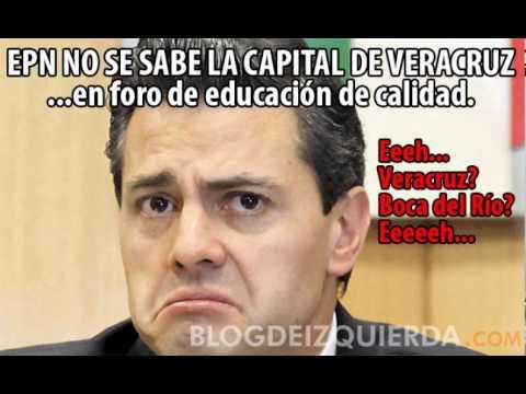blogdeizquierda.com - Peña Nieto no se sabe la capital de Veracruz