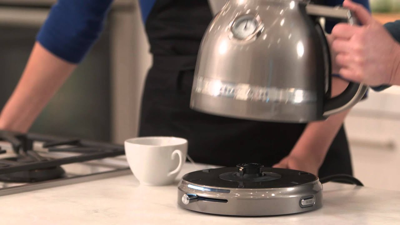 How to Use the KitchenAid Pro Line Kettle